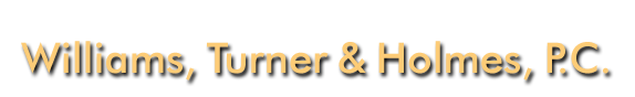 Williams, Turner & Holmes, P.C. logo